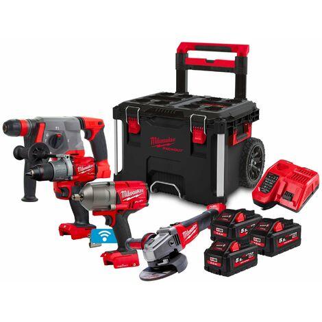 Kit Power Pack Milwaukee M18 PP4A-553P