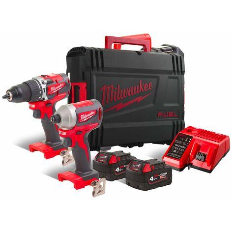 Kit Power Pack Milwaukee M18CBLPP2A-402C