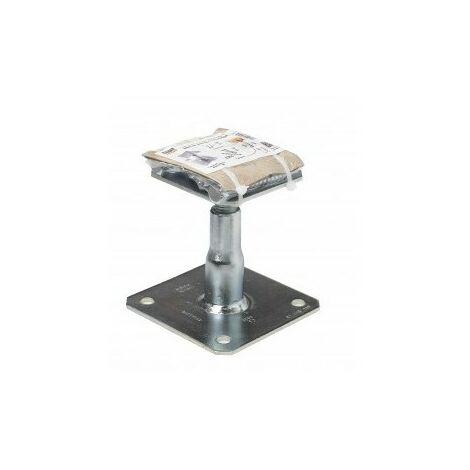 Kit Prêt à fixer Pied de poteau réglable hauteur 100 à 150 mm APB100/150 SIMPSON