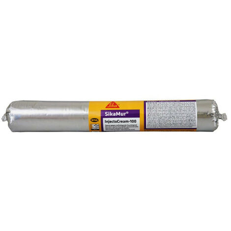 Kit Pro anti-humidité SIKA SikaMur InjectoCream-100 20m - plusieurs modèles disponibles