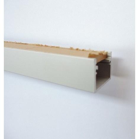 Kit profilé aluminium longueur 2m 20X15mm avec diffuseur opale pour bandeau LED LINE 5 TRAJECTOIRE 004699