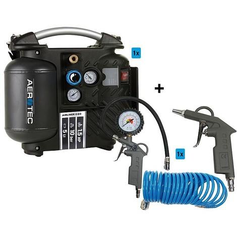 Kit promotionnel air comprimé compresseur + accessoires