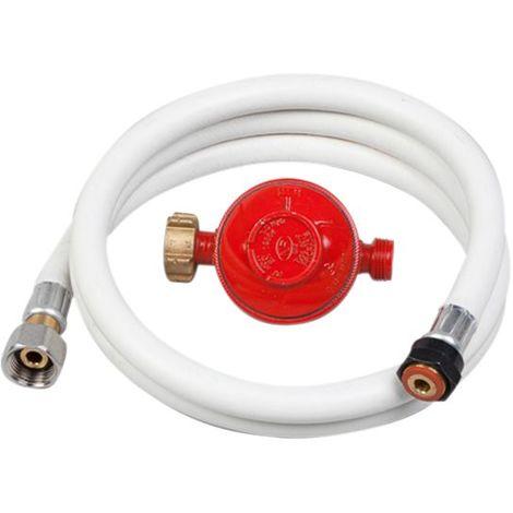 Kit propane tuyau flexible + détendeur - 1.5 kg/h - 37 mbar. NOYON & THIEBAULT