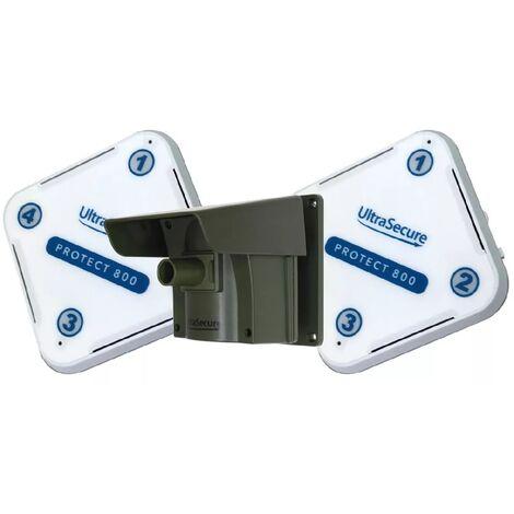 Kit Protect 800 double récepteurs - alarme d'allée sans fil longue distance (2 récepteurs, 1 détecteur)