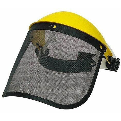 Kit protection visage - visiere grillagee relevable