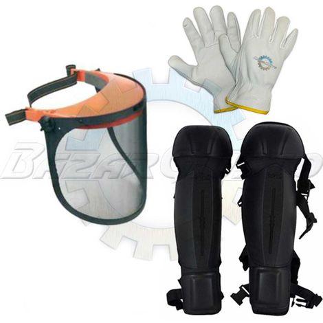 Kit Protezione Decespugliatore Tagliaerba Comfort Giardino