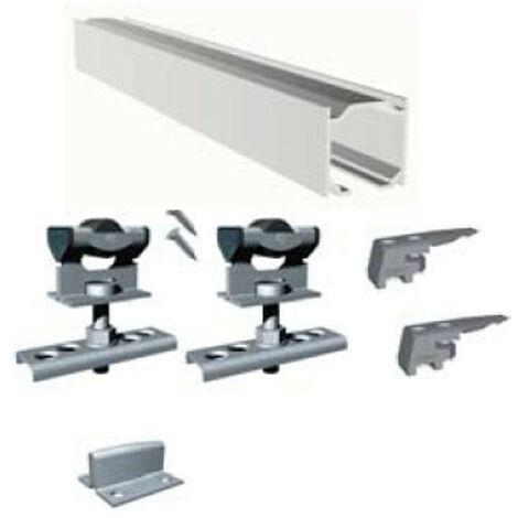 "main image of ""Kit Puerta Corredera Profesional Aluminio Sf-E40 - Saheco - 640/20 - 2 Metros.."""