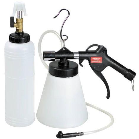 Kit Purgeur Purge de Frein Autonome Pneumatique avec Remplissage 700 ml