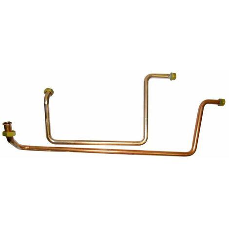 Kit raccordement 2 circuit chauffage + circuit FRISQUET HYDROMOTRIX condensation 25 - 32 kW Visio ref. F3AA41229