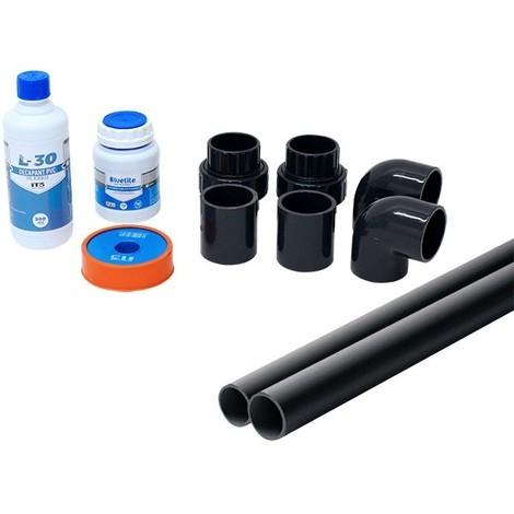 Kit raccords pour remplacement Ø50 - Catégorie Raccord PVC pression