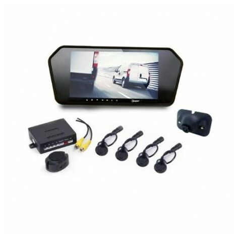 Kit radar & vidéo de recul écran LED 7'' 395.76