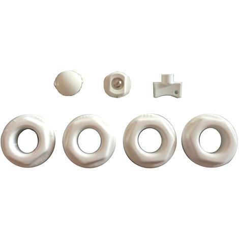 Kit radiateur fonte a colonne (1 1/4) - (33/42mm)