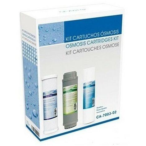 Kit recambio de 3 cartuchos standard osmosis CA-7003-02