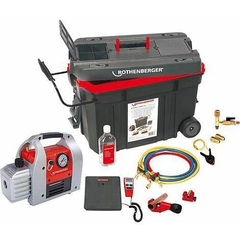 Kit récupérateur et recycleur de gaz réfrigérant ROCADDY-Kit 120