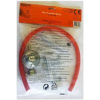 Kit regolatore gas + tubo da 60 cm + fascette - QLIMA G60
