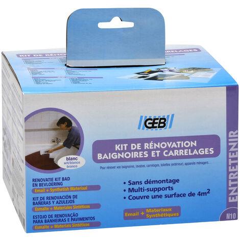 """main image of """"Kit rénovation GEB baignoires+ appareils sanitaires et carrelages"""""""