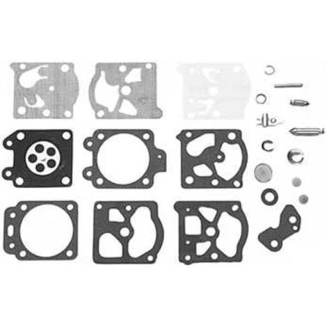 Kit reparation carburateur k20-wat pour Carburateur Walbro, Debroussailleuse Mc culloch, Tronconneuse Florabest, Debroussailleuse Husqvarna, Tondeuse