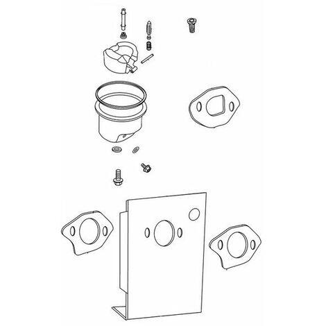 Kit réparation carburateur moteur tondeuse Oleo Mac