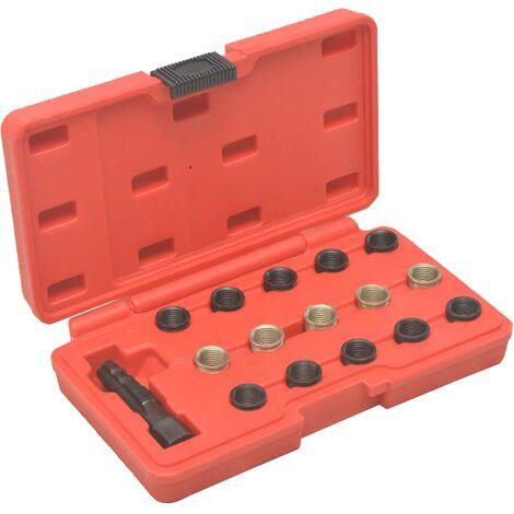 Kit réparation filetage bougie de préchauffage 16 pcs M14x1,25