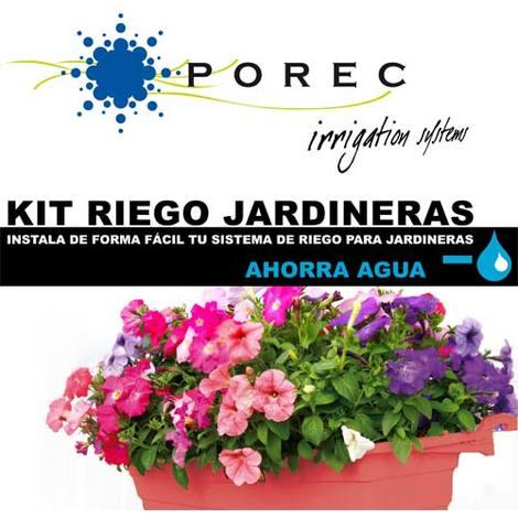 Kit Riego Jardineras Porec