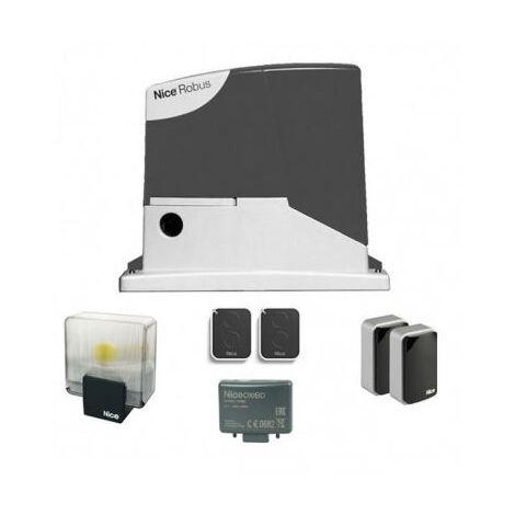 Kit ROBUS BD NICE Automatisme pour portail coulissant 400 Kg - RB400BDKCE
