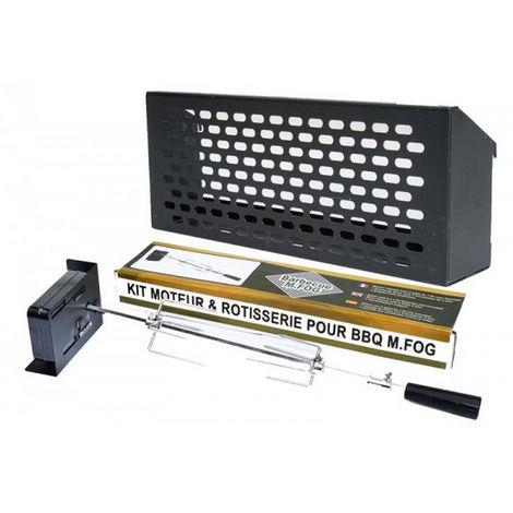 kit rôtissoire pour barbecue - 65800 - m.fog