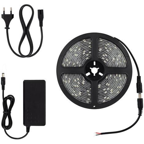 Kit Ruban LED 32W 30LED/m 5m IP65 avec Bloc d'Alimentation