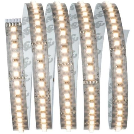Kit ruban MaxLED 1000 1,5m blanc chaud 20W 230/24V 60VA argent 2700K
