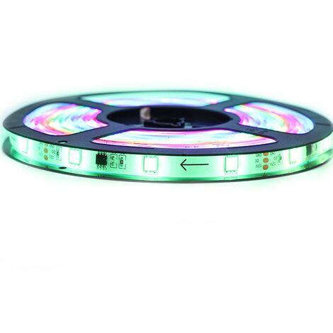 Kit Ruban Professionnel 5050/SMD2811 - 30 leds/m - 5 mètres RGB