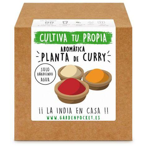 Kit siembra aromática Curry Garden Pocket