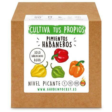 Kit siembra Pimiento Habanero Garden Pocket