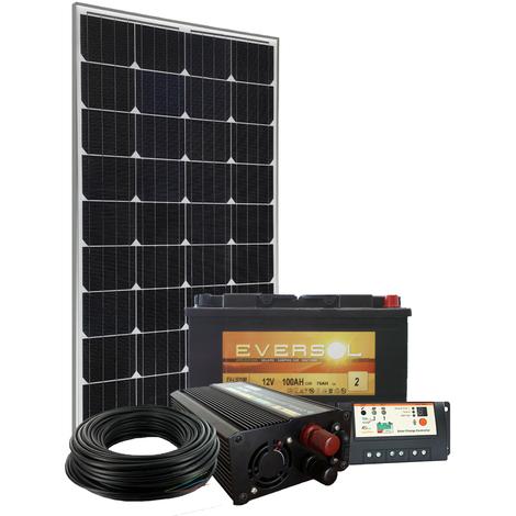 Kit Site Isolé 12V 100W / 380Wh par jour