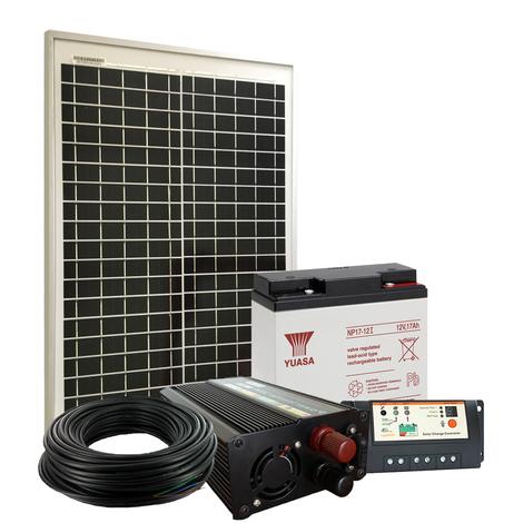 Kit Site Isolé 20W-12V / 81Wh par jour