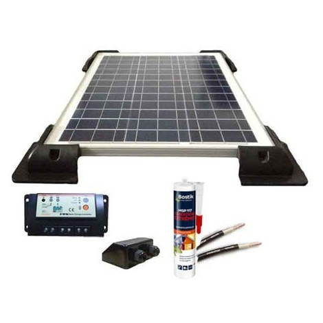 Kit solaire 12V 50W / 325Wh