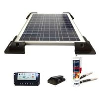 Kit solaire 12V 80W / 343Wh