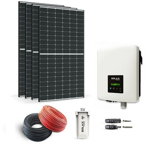 KIT SOLAIRE 1380W AUTOCONSOMMATION-SOLAX POWER