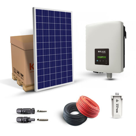 KIT SOLAIRE 1680W AUTOCONSOMMATION-SOLAX POWER