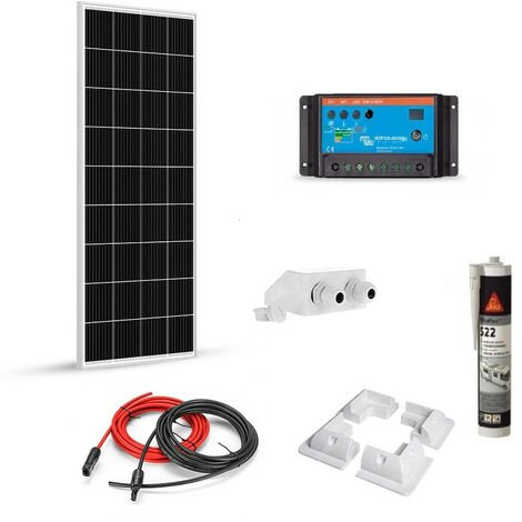 Kit solaire 180w 12v camping car-van-bateau - Victron