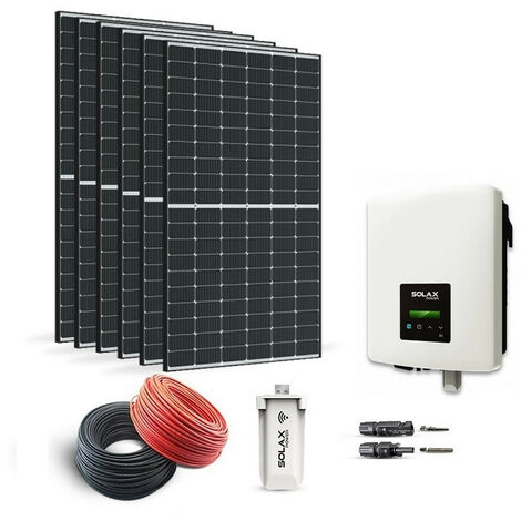 KIT SOLAIRE 2070W AUTOCONSOMMATION-SOLAX POWER