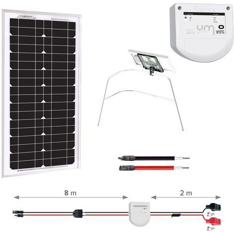 Kit solaire 20w - balcon - nautisme