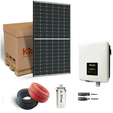 KIT SOLAIRE 2415W AUTOCONSOMMATION-SOLAX POWER