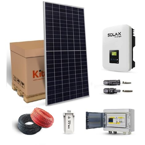 Kit Solaire 3300W BOOST Autoconsommation-Solax Power - Jinko Solar