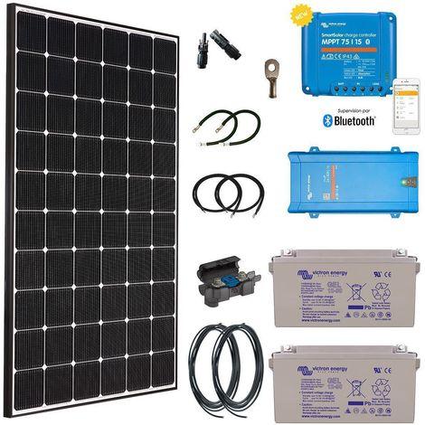 Kit solaire 355w autonome hybride