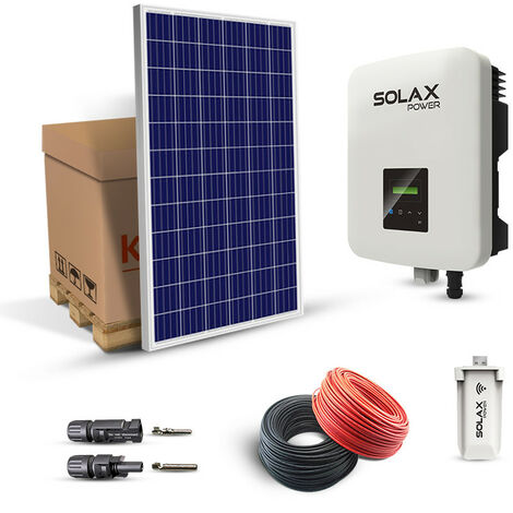 Kit Solaire 5040W Boost Autoconsommation-Solax Power