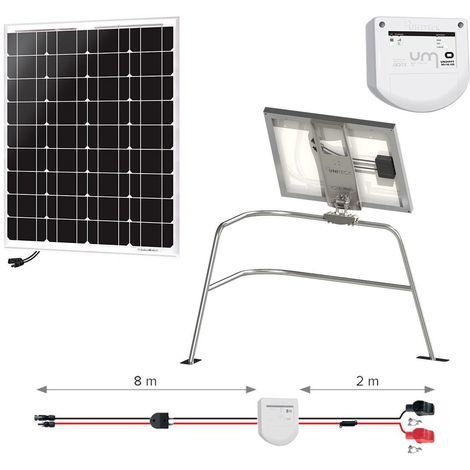 Kit solaire 50w - balcon - nautisme - uniteck