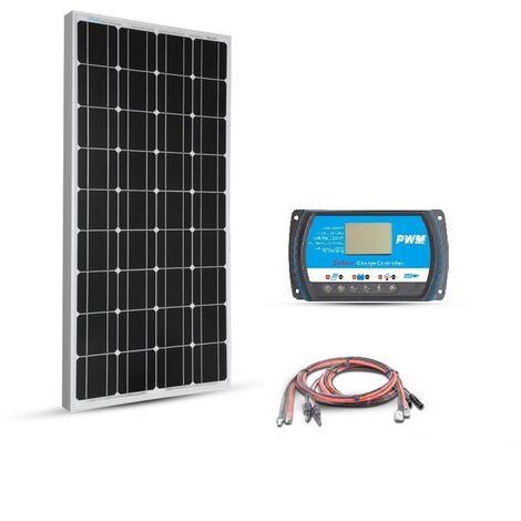 Kit solaire 80w 12v Basic Starter