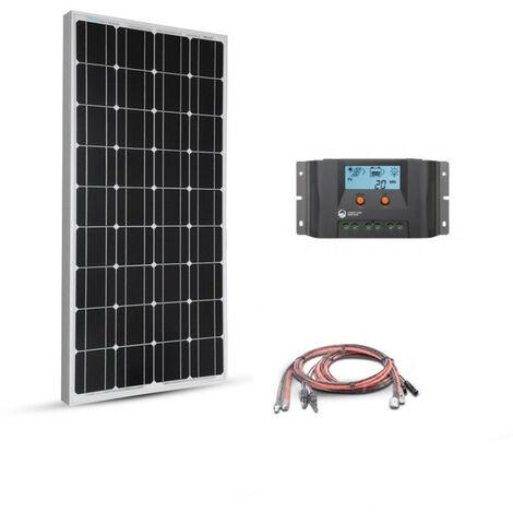Kit solaire 80w 12v Basic Starter MPPT - EPEVER