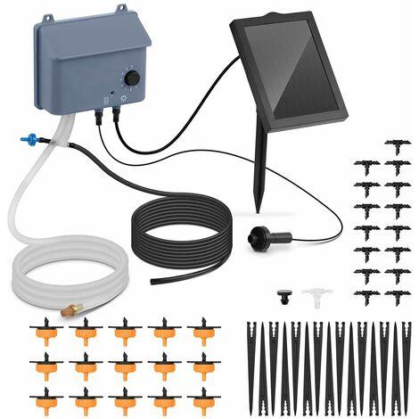 Kit Solaire Arrosage Automatique Goutte à Goutte Photovoltaique 0,7W 6V 36 l/h
