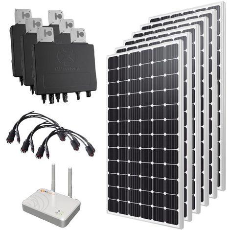 Kit solaire autoconsommation 1800 Wc