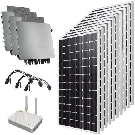 Kit solaire autoconsommation 6000 Wc Triphasé 380V